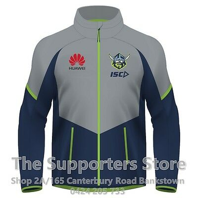 Canberra Raiders NRL 2017 Players ISC Wet Weather Jacket Size S-5XL! In Stock!
