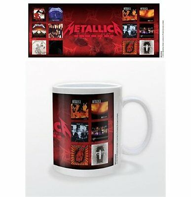 METALLICA Albums OFFICIAL Mug NEW in Presentation Box