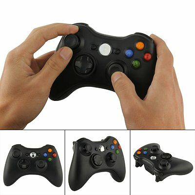 For Xbox 360 Wireless Controller With Stereo Jack Black Official Microsoft New