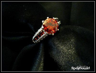 SPELL-INFUSED Love & PASSION Ring 99% ACCURATE Talisman SEX Witch AMULET