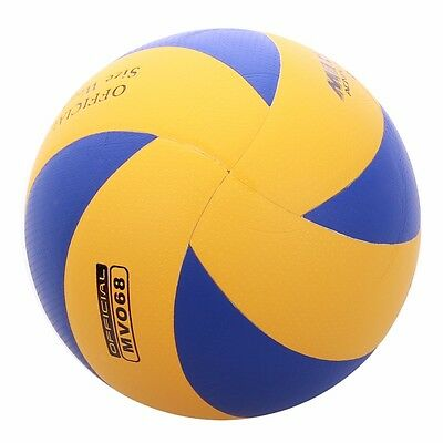MESUCA Volleyball Soft Touch Ball Official Blue / Yellow Outdoor Indoor Game