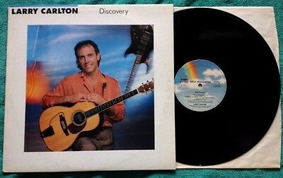 LARRY CARLTON / DISCOVERY - LP (printed in Italy 1987) NEAR MINT