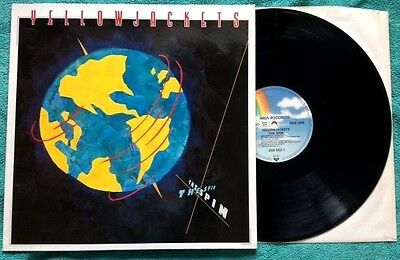 YELLOWJACKETS / THE SPIN - LP (printed in Germany - MCA 1989)