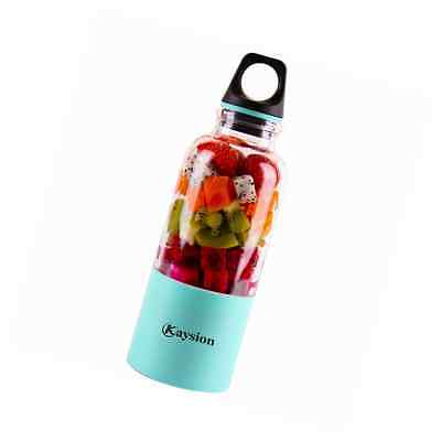 Portable Juicer Cup 500ml KAYSION Rechargeable Electric Juice Blender & Mixer Pe