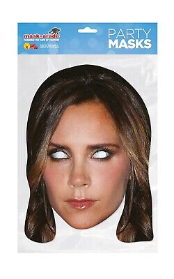 ** Victoria Beckham Party Mask Fancy Dress New ** Ladies Mens Posh Spice