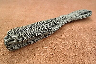 50m 18-3 Grey Irish linen - bowstring, serving, fletching