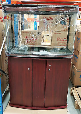 NEW Aquarium with High cabinet, Boyu Brand FREE Waterpump, front curved Glass