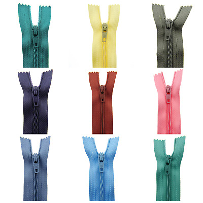 1 x Nylon Closed End Zips - ( Listing 2 )