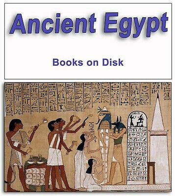 354 Rare Books on DVD - Ancient Egypt Egyptian Gods Legends Religion Beliefs 292