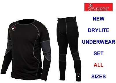 IMAX 2pc DRYLITE UNDERWEAR SET FOR SKIING HIKING SAILING FLOATATION SUIT WADERS