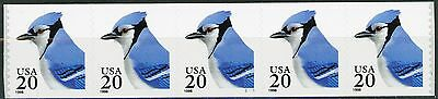 The Blue Jay PNC5 Plate S1111 Scotts 3053 or 3053a Self-Adhesive dated 1996 (s2)