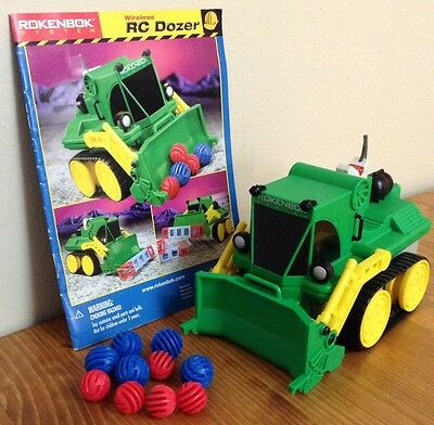 Rokenbok RC Classic Dozer ~ COMPLETE Choice Of Control Keys ~ Legacy Track T80