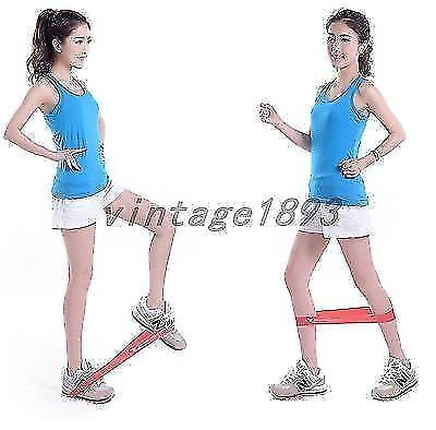 Fitness Latex Yoga Strength Resistance Band Loop Exercise Workout Loss Weight