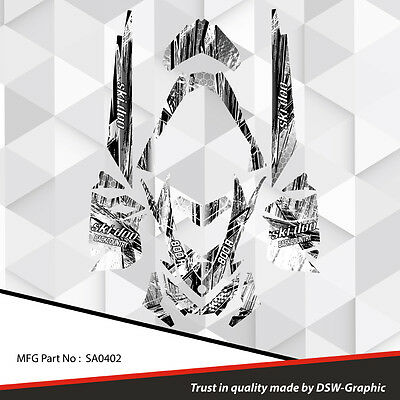Ski-Doo Xp Mxz Snowmobile Sled Wrap Graphics Sticker Decal Kit 2008-2013 Sa0402