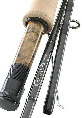 VISION Nite Medium Fast Action Flyrod - Fliegenrute - 4905 - 9' #5