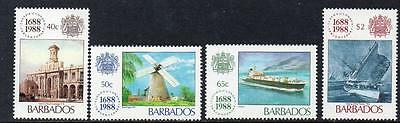 Barbados MNH 1988 The 300th Anniversary of Lloyd's of London