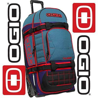 Ogio Rig 9800 Wheeled Mx Motocross Moto-X Enduro Mtb Travel Gear Kit Bag Tealio
