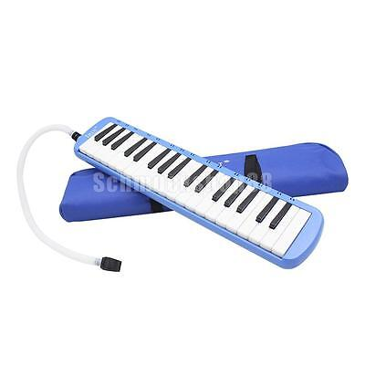 37 Keys Piano Keyboard Style Melodica Harmonica Lovers Musicians Gift Blue