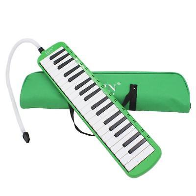 37 Keys Piano Keyboard Style Melodica Harmonica Lovers Musicians Gift Green