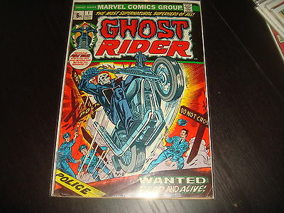 GHOST RIDER #1 1st own title 1st Son Of Satan  Marvel Comics 1973 FN+