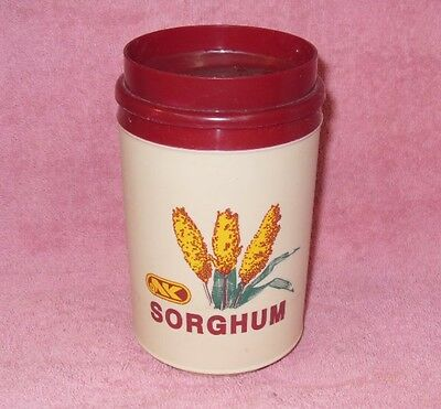 Northrup King Sorghum Plastic Aladdin Coffee Cup Mug Advertising