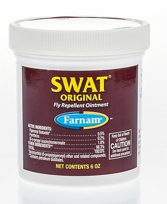 Swat Fly Repellent Ointment, Pink, 6 oz