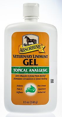 Absorbine Veterinary Liniment Gel, 12 oz