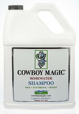 Cowboy Magic Rosewater Shampoo, 1 gallon refill