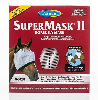SuperMask II Horse Fly Mask, Classic Collection, Horse