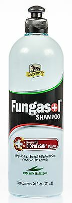 Equine America Fungasol Skin and Coat Care 32 oz shampoo bottle