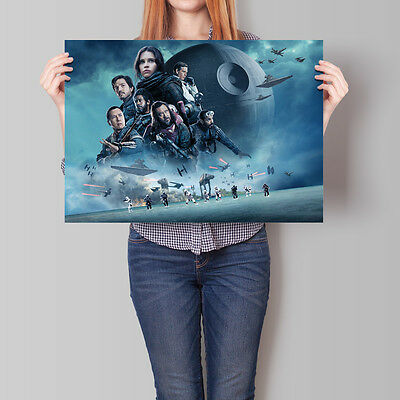 Rogue One A Star Wars Story Poster 2016 Movie Promo CHN Horizontal A2 A3 A4