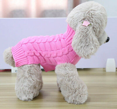 Extra Small Medium Large Extra Big Dog Sweater Pet Puppy Cat Sweater