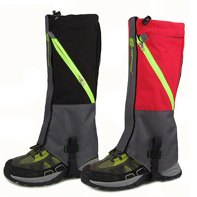Gaiters Breathable Mesh Inside Best Choice For Outdoor Winter Hiking Snow Cover