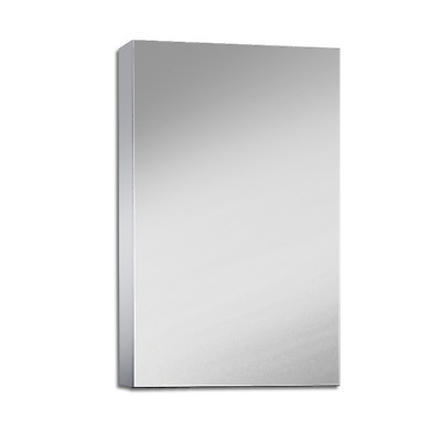 450Mm X 720Mm Bathroom Vanity Mirror Cabinet Shaving White Pencil Edge Pemc450