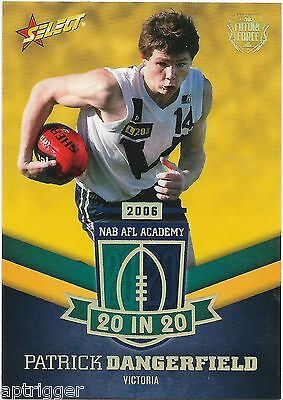 2016 Future Force NAB AFL Academy 20 In 20 (NAA8) Patrick DANGERFIELD 051/180