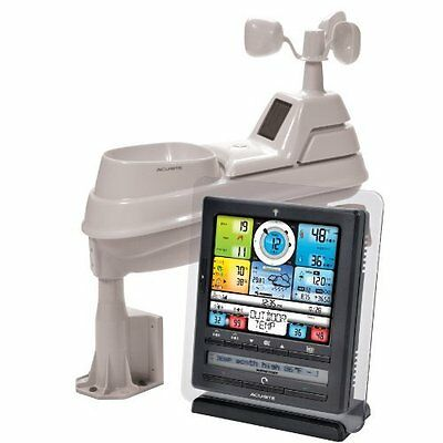 AcuRite 01036 Pro Weather Station with PC Connect, 5-in-1 Weather Sensor and My