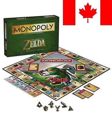 USAOPOLY Monopoly The Legend of Zelda Collector's Edition