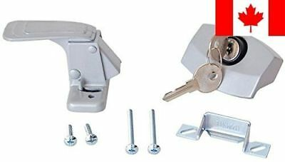 RV Designer Collection E311 Camping Door Latch Locking