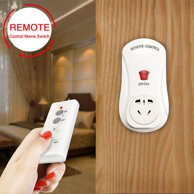 Smart Wireless Socket Remote Control Mains Switch Home Power Point AU Plug New