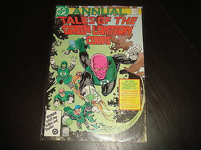 TALES OF GREEN LANTERN CORPS ANNUAL #2  Alan Moore DC Comics 1986 VF