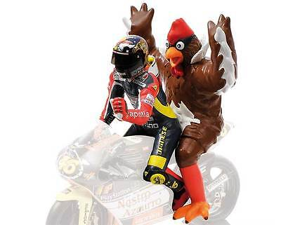 Valentino Rossi Sitting with Chicken Figure (Barcelona GP250 1998) 312980146