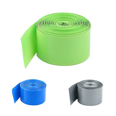 10M 29.5mm PVC Heat Shrink Tubing Wrap for 1 x 18650 Battery SP