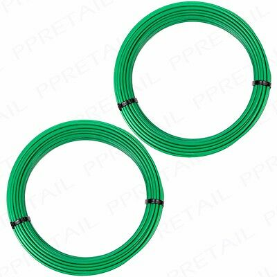 HEAVY DUTY 3mm THICK Garden Wire Trellis/Plant/Crop Support/Training PVC 20M