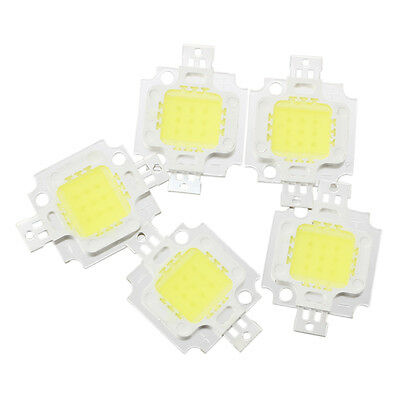 5 pcs 10W High Power White LED Light Lamp WK