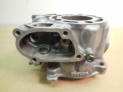 1999 Honda CR125 Cylinder core with a 54 mm chrome bore needs repair 99 CR 125