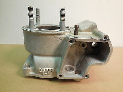2002 Suzuki RM85 Cylinder core with 48 mm chrome bore needs repair 02 RM 85