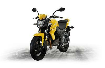 SYM WOLF 125 MOTORCYCLE COMMUTER BIKE (WE ALSO STOCK THE 250cc WOLF IN YELLOW )
