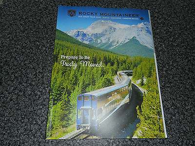 Rocky Mountaineer 2016 Luxury Train Guide / Seattle - Vancouver - Canada Rockies