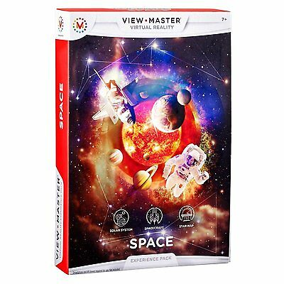NEW View-Master Virtual Reality Experience Pack Space - Solar System, Spacecraft