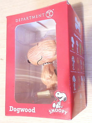 """Peanuts Snoopy Department 56 Statue figurine New Boxed 3"""" Dogwood (2013)"""